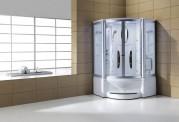 Cabine de hidromassagem e banheira com sauna AT-010B