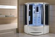 Cabine de hidromassagem e banheira com sauna AT-011B