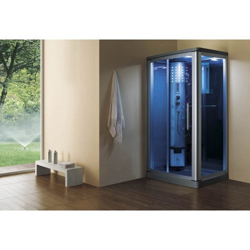 Cabine hidromassagem com sauna AS-014