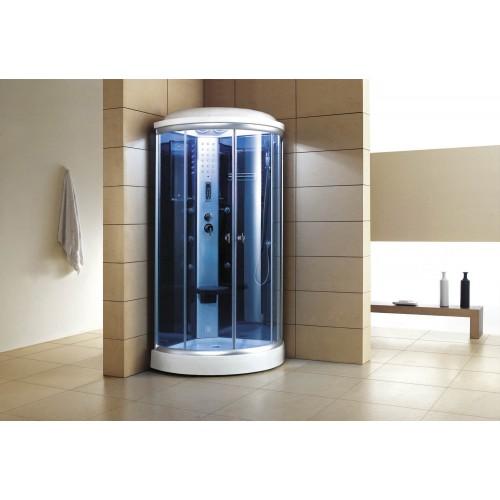 Cabine hidromassagem com sauna AS-019