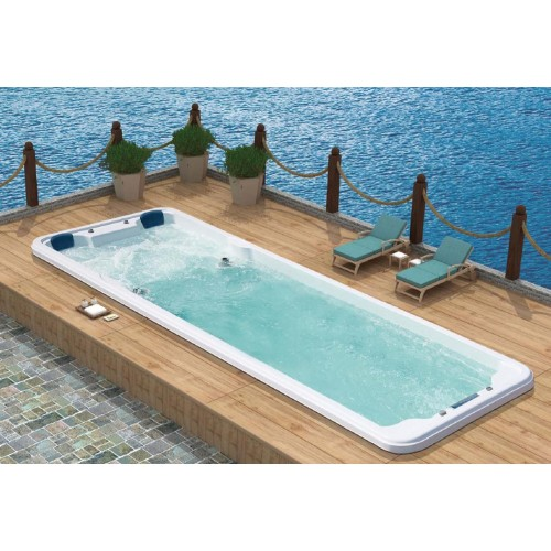 Piscina de hidromassagem swim spa AT-007B