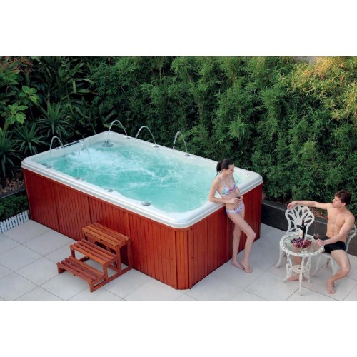 Piscina de hidromassagem swim spa AT-001